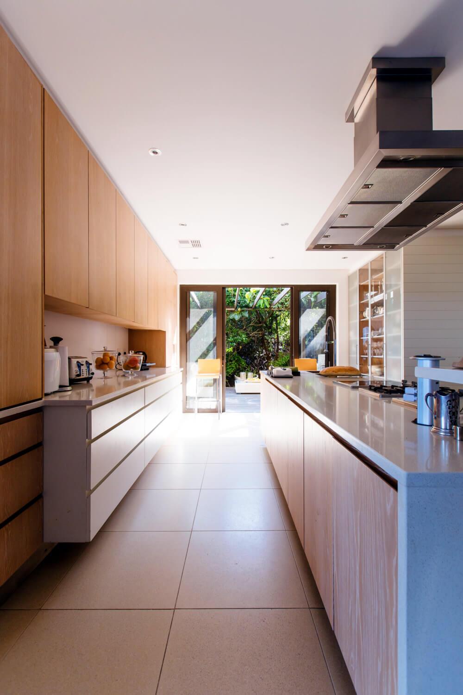 Küche nach Baufeinreinigung